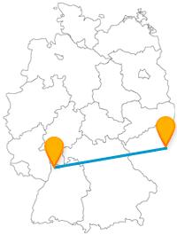 Entdecken Sie auf Ihrer Fernbusreise von Mannheim nach Prag neben städtischen und historischen Sehenswürdigkeit auch viel Natur.