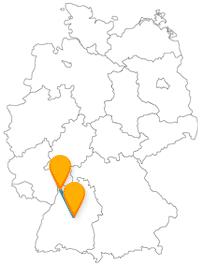 Kulturell hoch interessant ist eine Reise mit dem Fernbus von Mannheim nach Stuttgart.