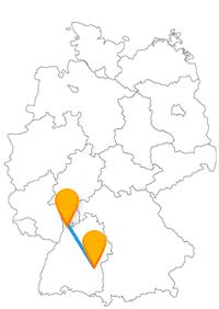 Schlossanlage, Münster, astronomische Uhr - besuchen Sie auf der Reise mit dem Fernbus zwischen Mannheim und Ulm beeindruckende Attraktionen.