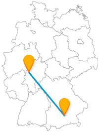 Mit dem Fernbus von Marburg nach München gibt es Glocken zu hören und Heiliges zu entdecken.