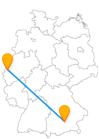 Auf der Reise mit dem Fernbus Mönchengladbach München wird es an Museen nicht mangeln.
