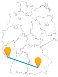 Machen Sie mit dem Fernbus von München nach Saarbrücken tolle Besichtigungstouren.
