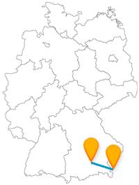 Eine kulturell interessante Fahrt mit dem Fernbus von München nach Salzburg