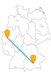 Der Fernbus München Solingen hat die Klingenstadt zum Ziel.