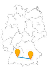 Erkunden Sie auf Ihrer Städtetour mit dem Fernbus München Stuttgart Flughafen den neuen Stuttgarter Fernbusbahnhof und die Burg Grünwald.
