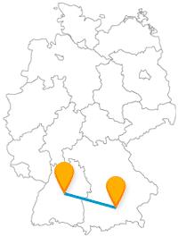 Fernbusverbindung München Stuttgart