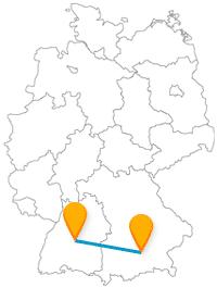 Was halten Sie davon, einmal mit dem Fernbus München Tübingen zwei historisch höchst interessante Städte zu besuchen?