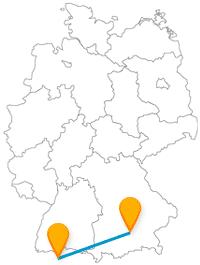 Der Fernbus München Zürich ermöglicht interessante Kurzausflüge über die deutsch-schweizerische Grenze.