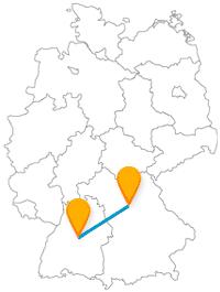 Die Fahrt mit dem Fernbus von Nürnberg nach Stuttgart ist für die ganze Familie ein Erlebnis.