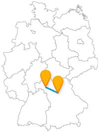 Die Reise im Fernbus zwischen Nürnberg und Würzburg ist nicht nur zur Weihnachtszeit ein schönes Erlebnis.