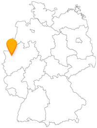 Der Fernbus in Oberhausen