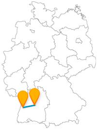 Haben Sie auf der Fernbusreise zwischen Offenburg und Stuttgart einen Einblick ins Klosterleben oder zu Schloss.