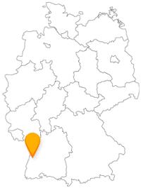 Der Fernbus in Offenburg