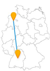 Erleben Sie mit der Reise im Fernbus Oldenburg Stuttgart einen sehenswerten Kontrast zwischen den beiden Städten.