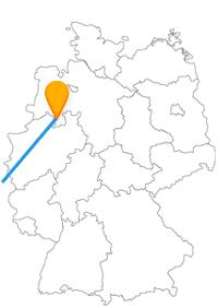 Osnabrück macht gegenüber Paris Ihren Aufenthalt mit Gemütlichkeit wett, wenn Sie aus dem Fernbus Osnabrück Paris ausgestiegen sind.