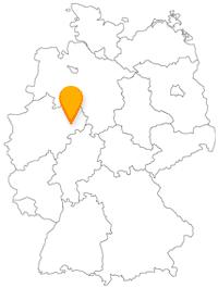 Der Fernbus in Paderborn