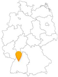 In den Fernbus in Pforzheim einsteigen