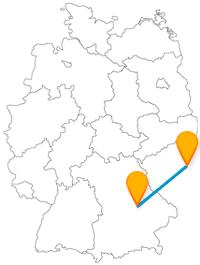 Fernbus Regensburg Prag