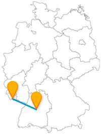 Die Fahrt mit dem Fernbus von Saarbrücken nach Stuttgart eignet sich hervorragend für eine Shoppingtour.