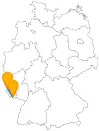 Alt und geschichtsträchtig sind die beiden Städte der Fernbusverbindung von Saarbrücken nach Trier.