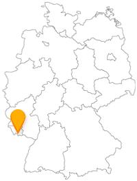 Der Fernbus in Saarbrücken