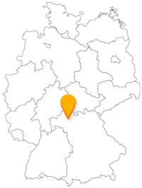 Der Fernbus in Schweinfurt