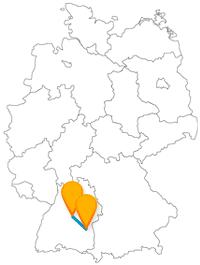 Verknüpfen Sie nach Ihrer Fernbusfahrt zwischen Stuttgart und Ulm Ruhe mit Fitness.