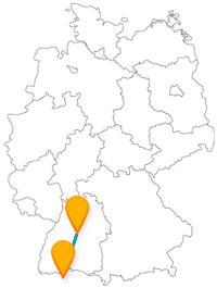 Mit dem Fernbus von Stuttgart nach Zürich auch international unterwegs