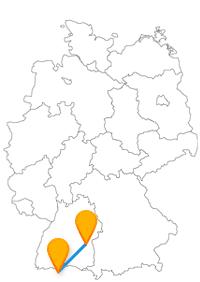 Sie können nach der Reise im Fernbus Ulm Zürich auf dem Boden bleiben oder hoch hinaus gehen.