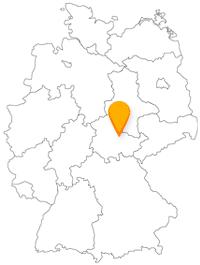 Der Fernbus in Weimar