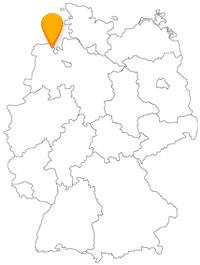 Der Fernbus Wilhelmshaven bringt Sie zur größten Drehbrücke Deutschlands.