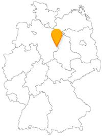 Der Fernbus in Wolfsburg
