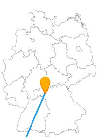 Die Reise per Fernbus zwischen Würzburg und Zürich lohnt sich für Wanderungen und Spaziergänge.