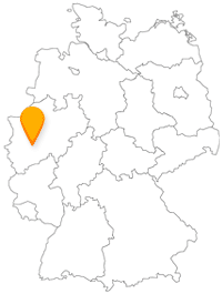 Der Fernbus in Wuppertal