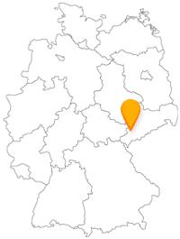 Der Fernbus in Zwickau