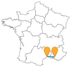 Prennez le bus de Aix-en-Provence-Montpellier au meilleur prix
