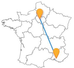 Tous les bus de Aix-en-Provence à Paris au meilleur prix