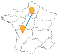 Tous les voyages pas cher en car de Angoulême à Paris
