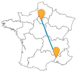 Tous les bus de Avignon à Paris