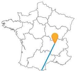 Partir en voyage en bus de Barcelone à Lyon