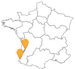 Voyages en bus de Bayonne à Bordeaux