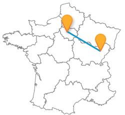 Partir au meilleur prix en bus de Besançon à Paris