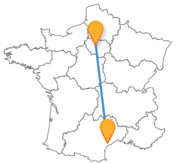 Voyagez low cost en bus de Beziers à Paris !