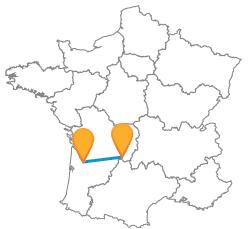 Partir en vacances en bus de Bordeaux à Brive-la-Gaillarde