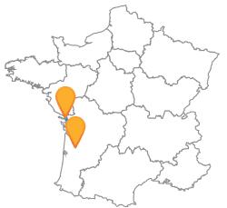Voyage low cost en bus de Bordeaux à La Rochelle