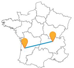 Choisir de prendre le bus de Bordeaux à Lyon