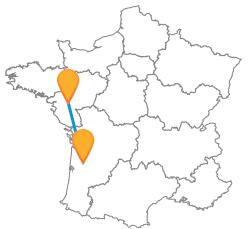 Tous les bus de Bordeaux à Nantes pas cher
