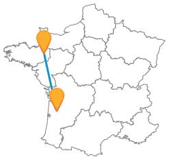Partir en bus de Bordeaux à Rennes au meilleur prix