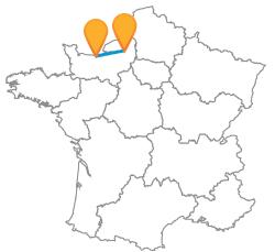 Voyager low cost en car de Caen à Rouen