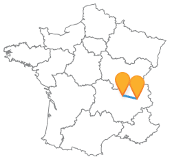 Faire le trajet rapide en bus de Chambery à Lyon